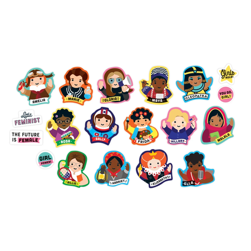 HACHETTE/CHRONICLE/MUDPUPPY LITTLE FEMINIST BOX OF MAGNETS