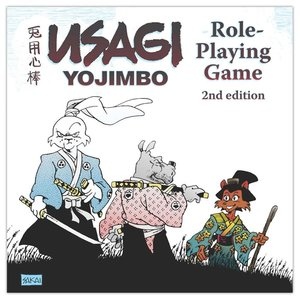 SANGUINE PRODUCTIONS USAGI YOJIMBO RPG - 2ND EDITION