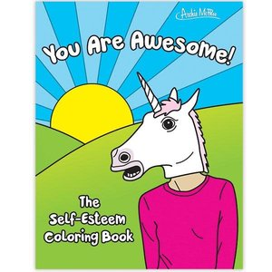 Archie McPhee SELF-ESTEEM COLORING BOOK