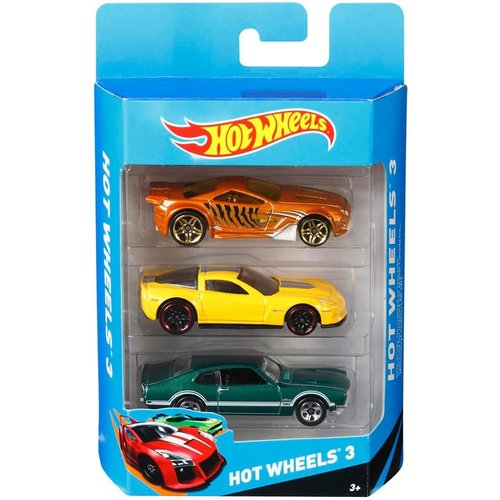 MATTEL HOT WHEELS 3-CAR ASSORTMENT