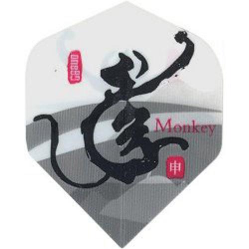 MAGIC/A-Z DARTS FLIGHT CHINESE ZODIAC MONKEY (Set of 3)