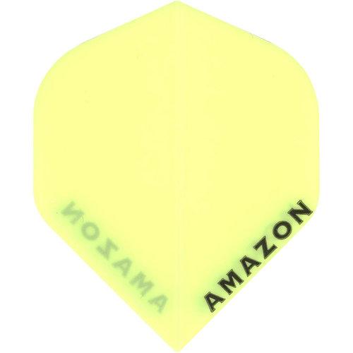 MAGIC/A-Z DARTS FLIGHT AMAZON YELLOW (Set of 3)