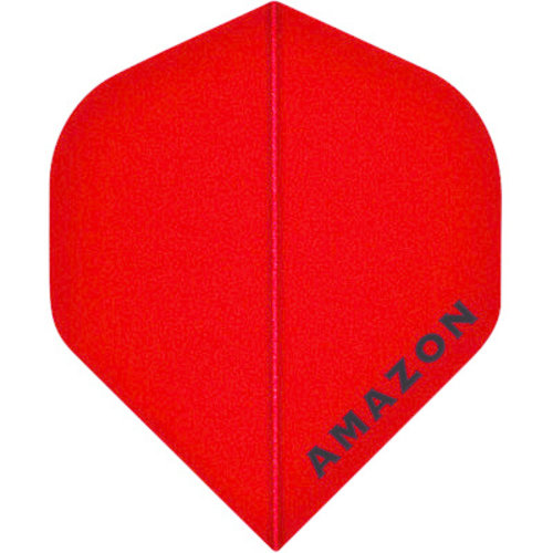 MAGIC/A-Z DARTS FLIGHT AMAZON RED (Set of 3)
