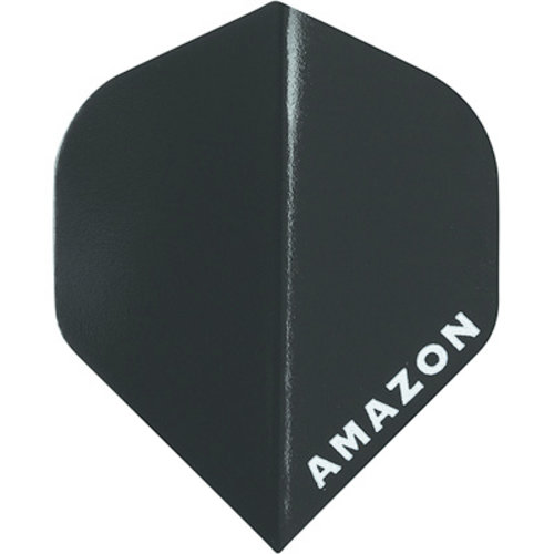 MAGIC/A-Z DARTS FLIGHT AMAZON BLACK (Set of 3)