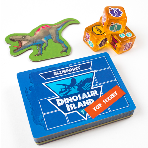Pandasaurus Games DINOSAUR ISLAND TOTALLY LIQUID