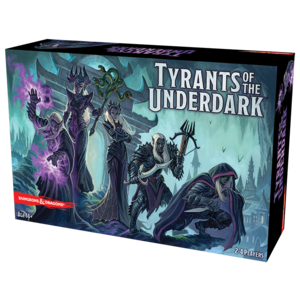 Gale Force Nine D&D: TYRANTS OF THE UNDERDARK