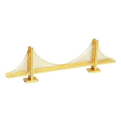 Metal Earth 3D METAL EARTH GOLDEN GATE BRIDGE (GOLD)