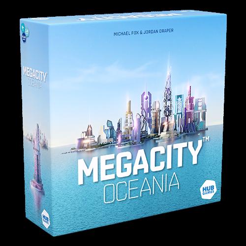 Asmodee MEGACITY: OCEANIA