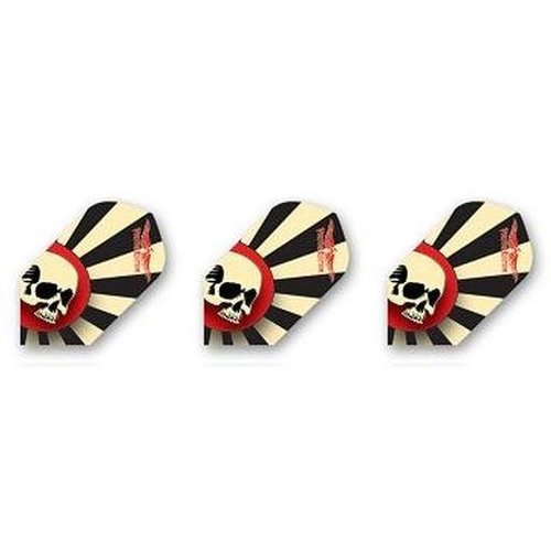 HORIZON DARTS FLIGHT VULTURE KULTURE SUN SKULL SLIM (Set of 3)