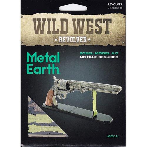 Metal Earth 3D METAL EARTH WILD WEST REVOLVER