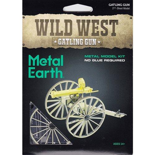 Metal Earth 3D METAL EARTH WILD WEST GATLING GUN