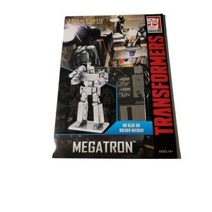Metal Earth 3D METAL EARTH TRANSFORMERS MEGATRON