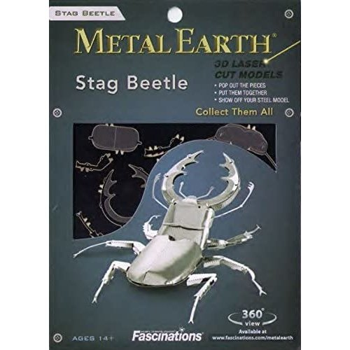 Metal Earth 3D METAL EARTH STAG BEETLE