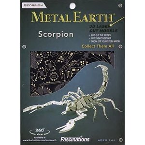 Metal Earth 3D METAL EARTH SCORPION