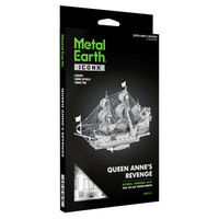 3D METAL EARTH QUEEN ANNE'S REVENGE
