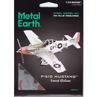 3D METAL EARTH P-51D MUSTANG