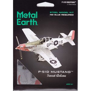 Metal Earth 3D METAL EARTH P-51D MUSTANG