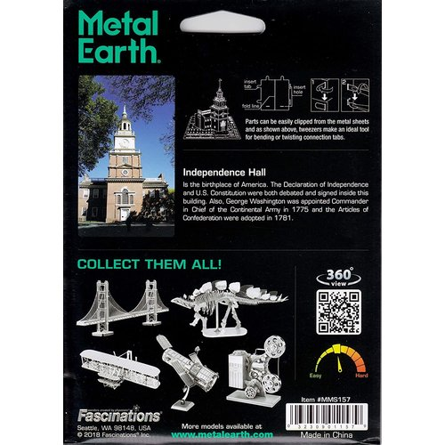 Metal Earth 3D METAL EARTH INDEPENDENCE HALL