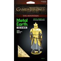 3D METAL EARTH GAME OF THRONES THE MOUNTAIN