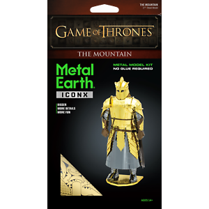 Metal Earth 3D METAL EARTH GAME OF THRONES THE MOUNTAIN