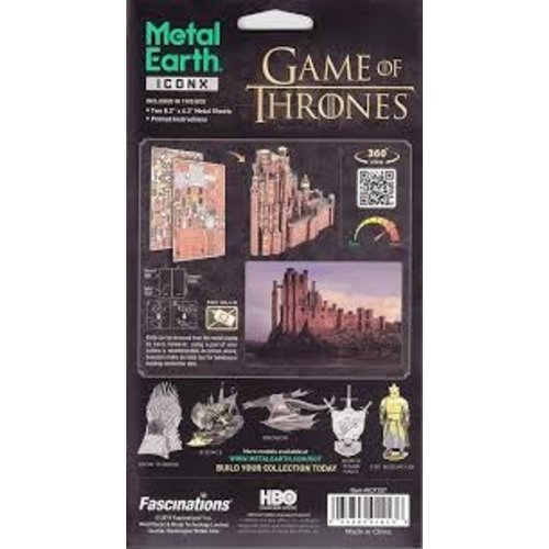 Metal Earth 3D METAL EARTH GAME OF THRONES RED KEEP
