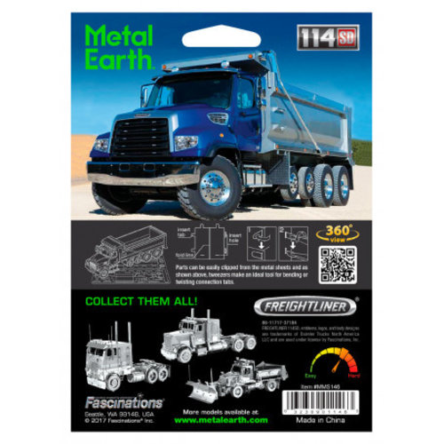Metal Earth 3D METAL EARTH FREIGHT DUMP TRUCK