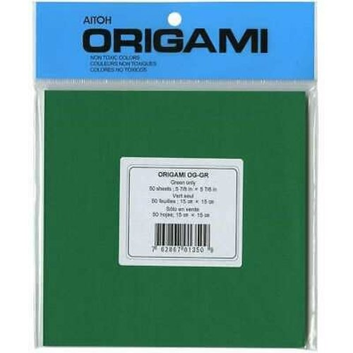 "AITOH COMPANY ONE COLOR GREEN-50 (5.875"")"