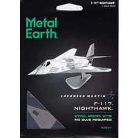 3D METAL EARTH F-117 NIGHTHAWK