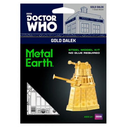 Metal Earth 3D METAL EARTH DR WHO GOLD DALEK
