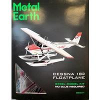 3D METAL EARTH CESSNA 182 FLOATPLANE