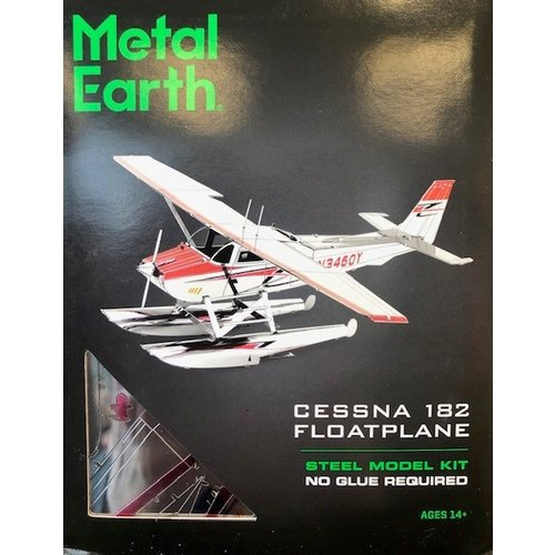 Metal Earth 3D METAL EARTH CESSNA 182 FLOATPLANE