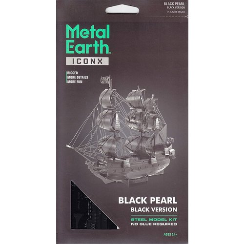 Metal Earth 3D METAL EARTH BLACK PEARL BLACK