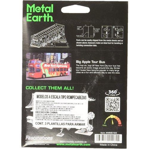 Metal Earth 3D METAL EARTH BIG APPLE TOUR BUS