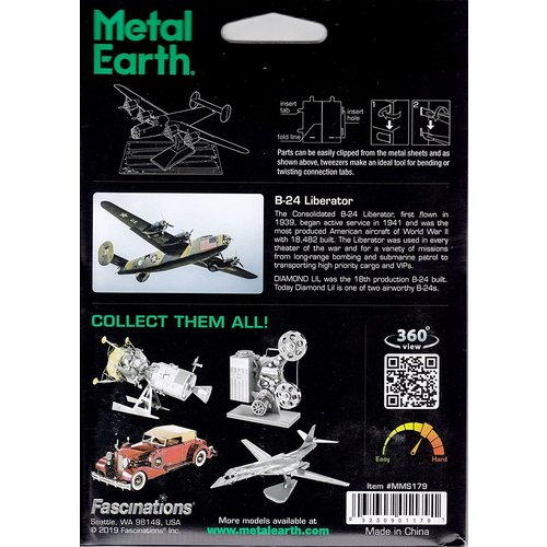 Metal Earth 3D METAL EARTH B-24 LIBERATOR