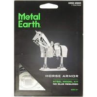 3D METAL EARTH ARMOR HORSE