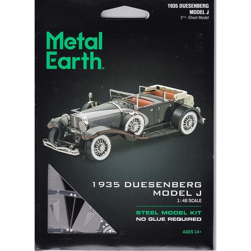 Metal Earth 3D METAL EARTH 1935 DUSENBERG MODEL J