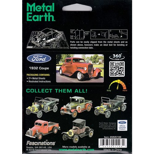 Metal Earth 3D METAL EARTH 1932 FORD COUPE