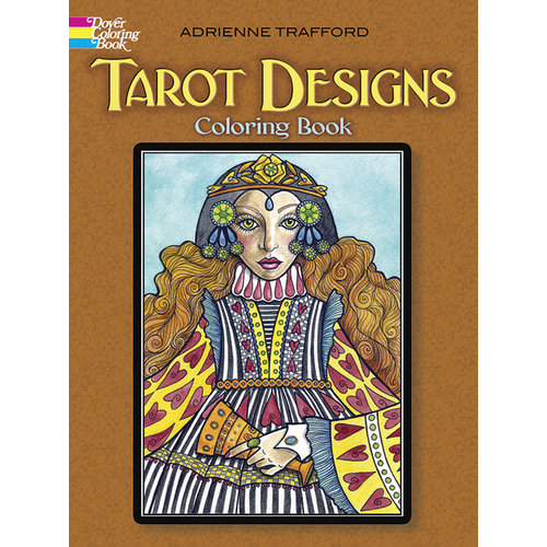 DOVER PUBLICATIONS TAROT DESIGNS COLORING BOOK
