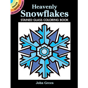 DOVER PUBLICATIONS MINI HEAVENLY SNOWFLAKE SG COLORING BOOK