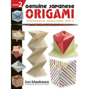 DOVER PUBLICATIONS GENUINE JAPANESE ORIGAMI BOOK 2
