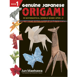 DOVER PUBLICATIONS GENUINE JAPANESE ORIGAMI BOOK 1
