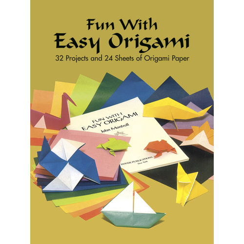 DOVER PUBLICATIONS FUN WITH EASY ORIGAMI
