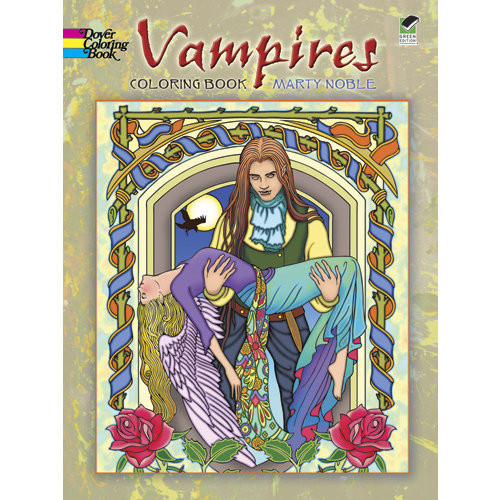 DOVER PUBLICATIONS COLORING BOOK: VAMPIRES