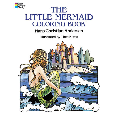 DOVER PUBLICATIONS COLORING BOOK: THE LITTLE MERMAID