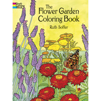 COLORING BOOK: FLOWER GARDEN