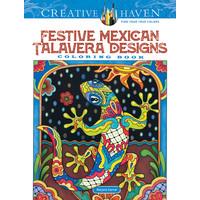 COLORING BOOK: FESTIVE MEXICAN TALAVERA