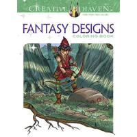 COLORING BOOK: FANTASY DESIGNS