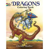 COLORING BOOK: DRAGONS
