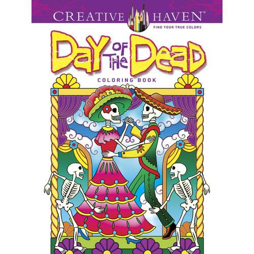 DOVER PUBLICATIONS COLORING BOOK: DAY OF THE DEAD