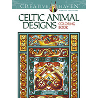 COLORING BOOK: CELTIC ANIMAL DESIGNS